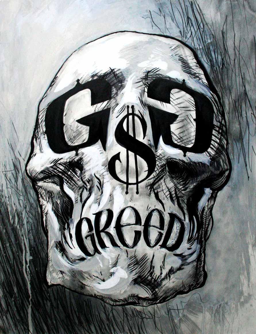 great gods of greed mark korsak